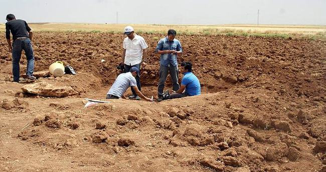 Mardin'de Tunç dönemine ait mezar bulundu