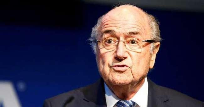 Blatter'e çıkışı, FBI gösterdi