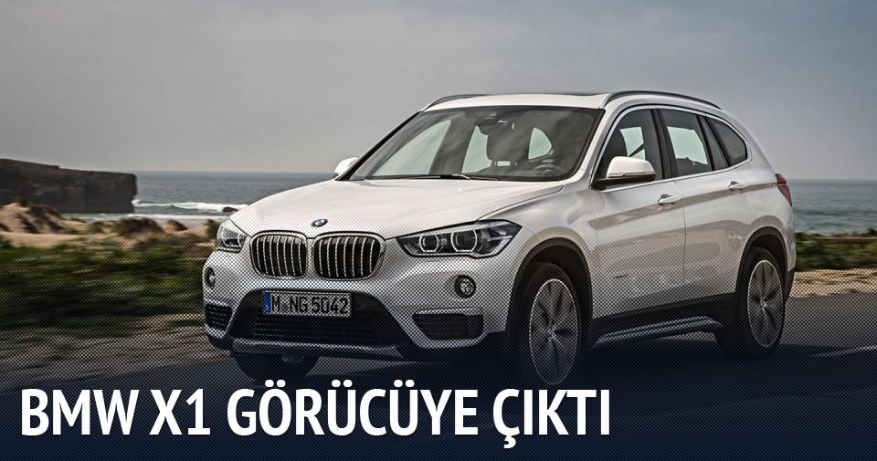 BMW X1 artık daha dinamik ve daha konforlu