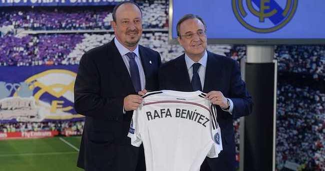 Real Madrid'de Benitez dönemi başladı