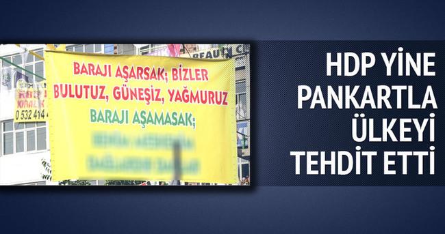 HDP'nin mitinginde yine aba altından sopa gösterildi