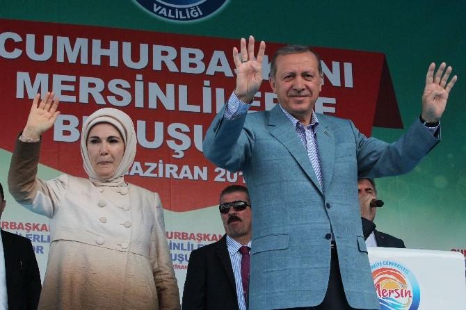 Cumhurbaşkanı Erdoğan Mersin'de (1)