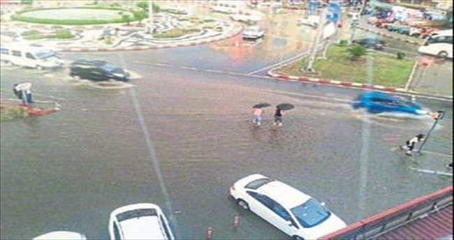 AK Partili Öz: Miting meydanınızı su bastı