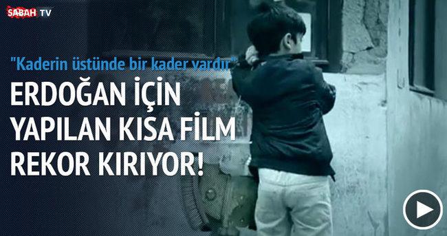 Erdoğan için yapılan kısa film rekora gidiyor!