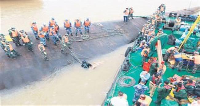Çin'deki gemi faciasında ölü sayısı 26 oldu