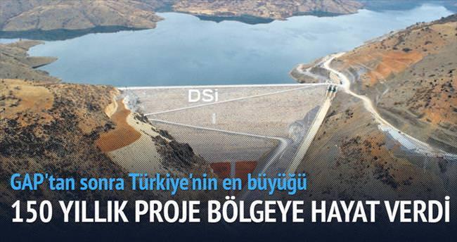 Mavi Tünel'le Konya Ovası'na hayat akıyor
