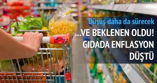 ...Ve gıdada enflasyon düştü