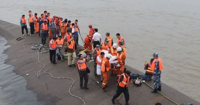 Çin'deki gemi kazasında ölü sayısı 65'e yükseldi