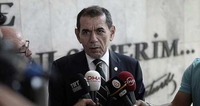 Dursun Özbek'ten yıldız transfer sözü