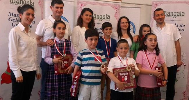 Okullararası Mangala turnuvası yapıldı