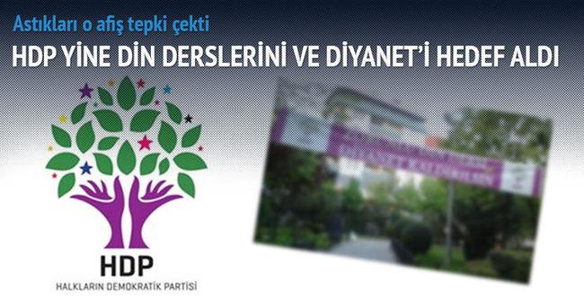 HDP yine din derslerini ve Diyanet'i hedef aldı