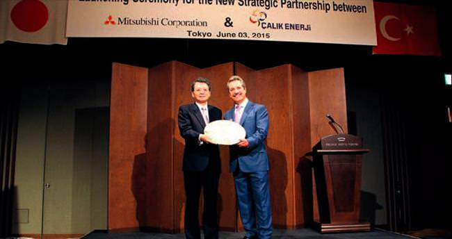 Japon Mitsubishi Çalık Enerji'den hisse alıyor