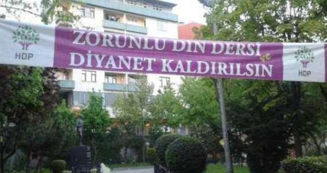 HDP yine dini hedef aldı