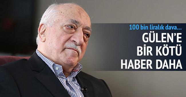 Fetullah Gülen'in açtığı davaya ret!