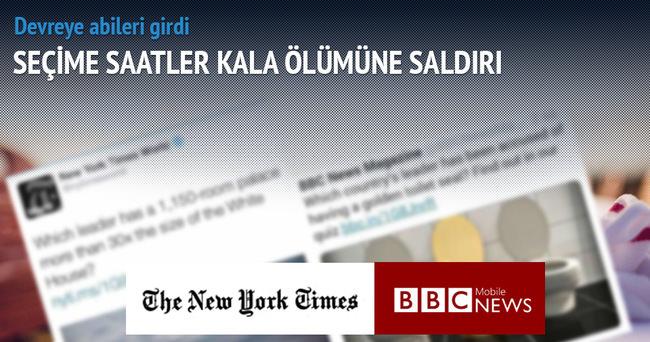 İki dev gazete aynı başlıkla Erdoğan'ı hedef yaptı
