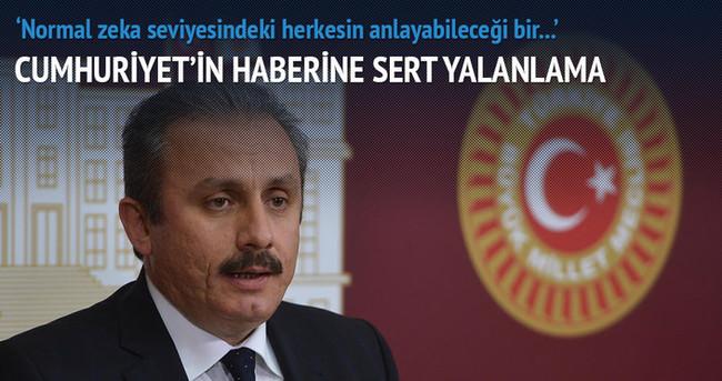 AK Parti'den Cumhuriyet'e sert yalanlama!