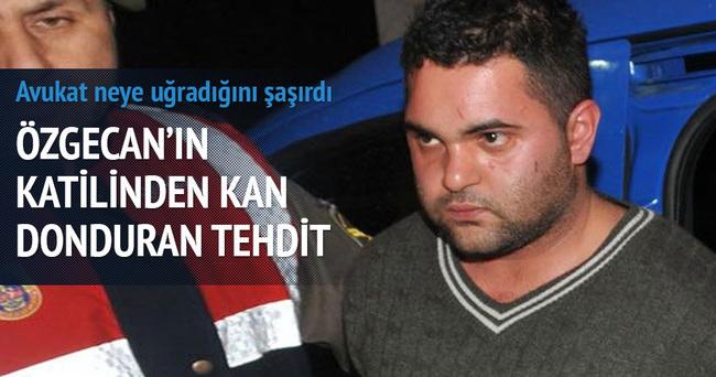 Özgecan Aslan cinayeti sanığından avukata tehdit
