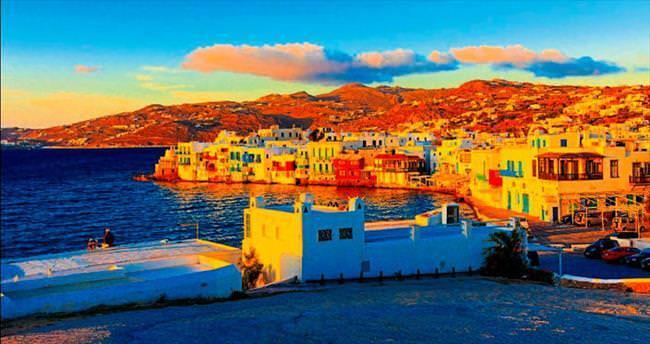 Yunan adalarına mavi yolculuk