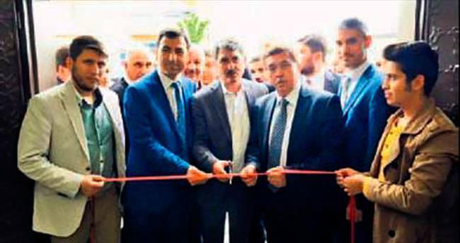 Pursaklar Saray'da yeni muhtarlık binası açıldı
