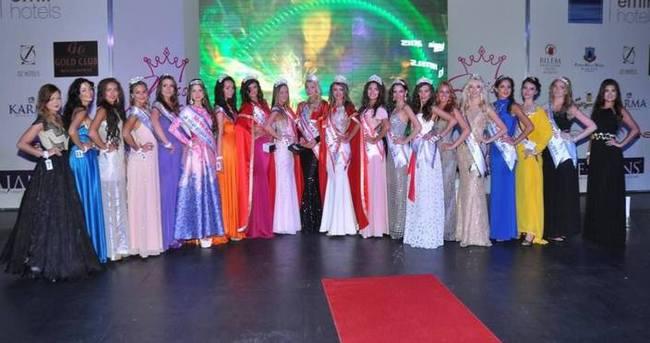 Miss Eurasia Güzellik Yarışması'nın galibi Rusya