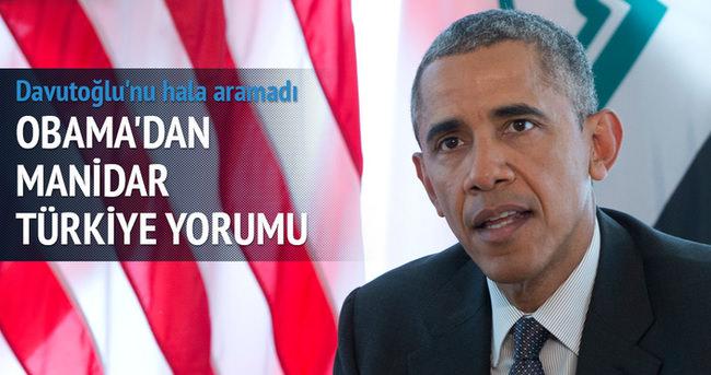 Obama'dan manidar Türkiye yorumu