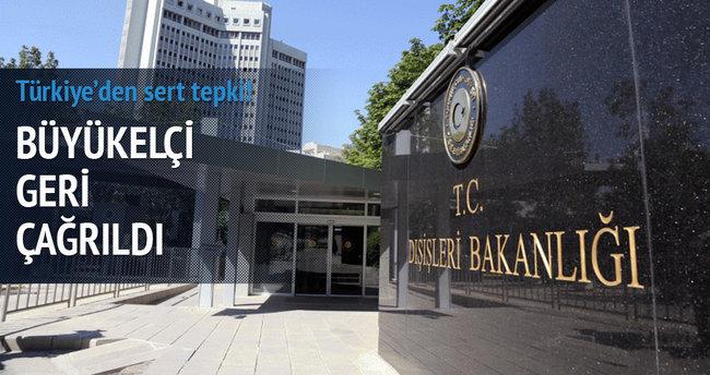 Türkiye'den Brezilya'ya sert tepki
