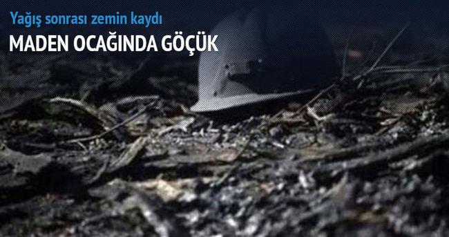Amasya'daki maden ocağında göçük: 1 ölü!