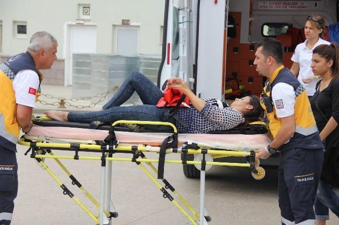 Go-kart Pistinde Kaza: 1 Yaralı