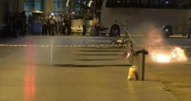 Otobüs Terminali'nde bomba paniği