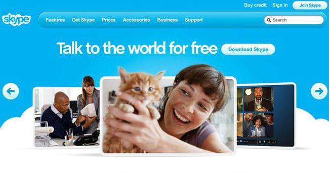 Skype'a Web üzerinden ulaşın