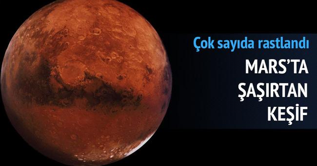 Mars'ta şaşırtan keşif