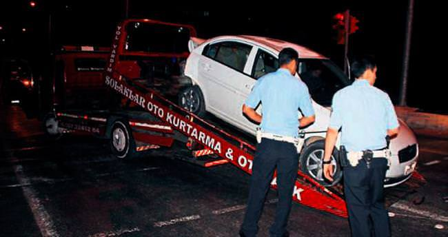 Trafik ışıklarında kaza: 6 yaralı