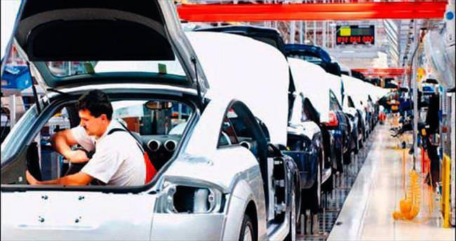 İşçi eylemleri otomobil üretimini % 13 düşürdü