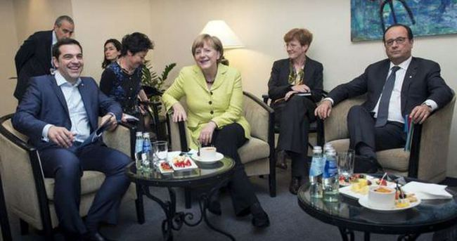 Yunanistan Almanya ve Fransa'ya odaklandı