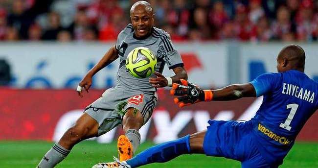 Galatasaray'da Andre Ayew şoku!
