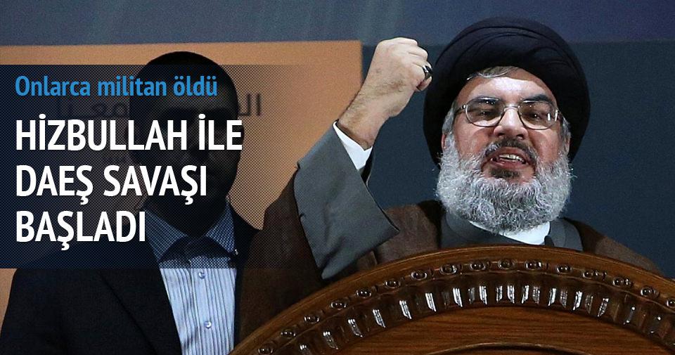 Hizbullah, DAEŞ savaşı fiilen başladı