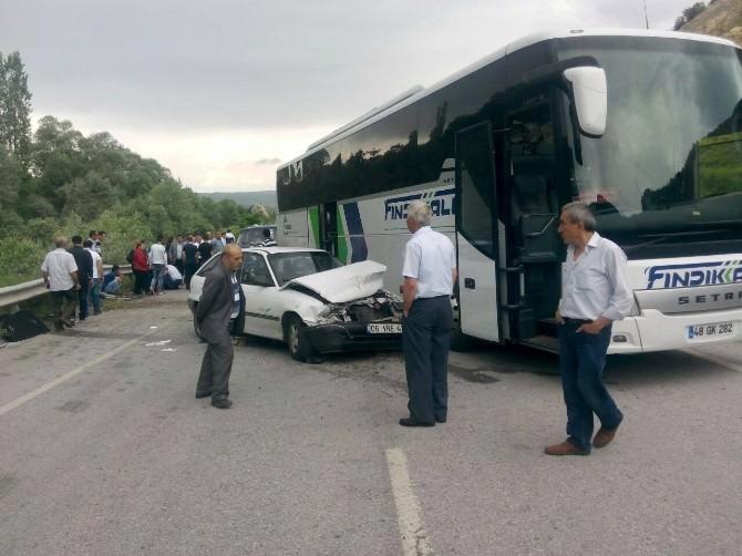Çorum'da Trafik Kazası: 6 Yaralı