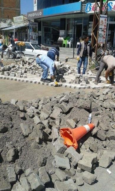 Erciş Belediyesi'nin Asfalt Ve Kaldırım Çalışmaları