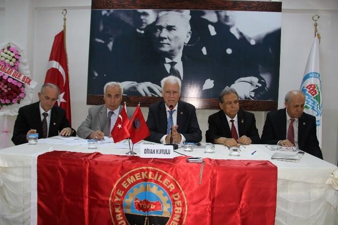 Kdz. Ereğli'de Emekliler Derneği Kongresi Yapıldı