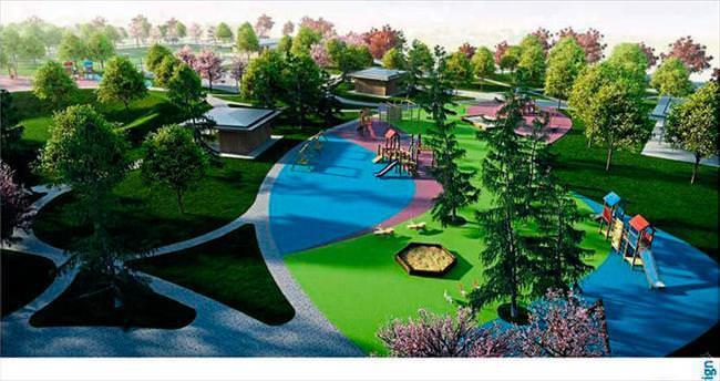 Temalı park ilçenin çehresini değiştirir