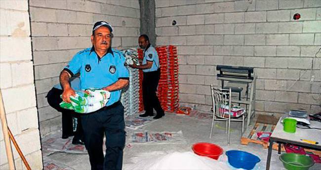 Gaziantep'te sahte deterjana suçüstü