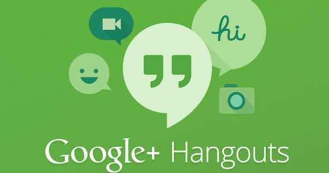 Google Hangouts tasarımını değişiyor