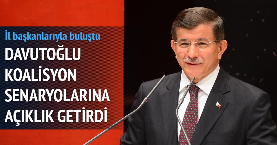 Davutoğlu: Türkiye'yi idaret etmeleri mümkün değildir