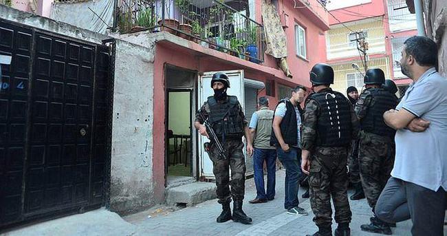 Adana'da şafak vakti huzur operasyonu