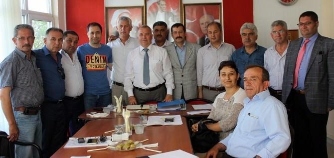 MHP İl Ve İlçe Teşkilatları Seçim Sonuçlarını Değerlendirdi