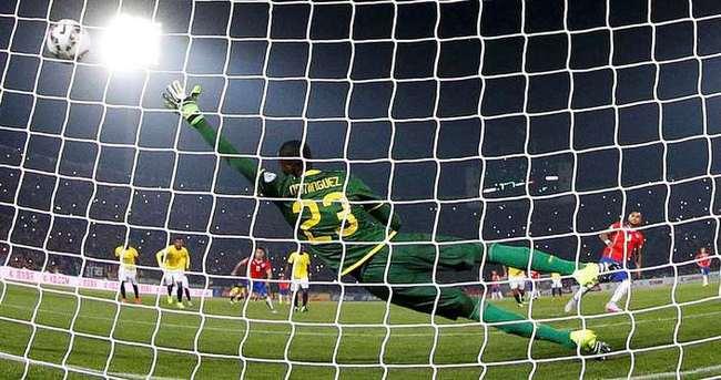 Copa America'nın açılış maçında Şili güldü