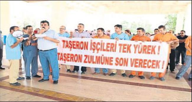 AÜ Hastanesi'nde taşeron işçi isyanı