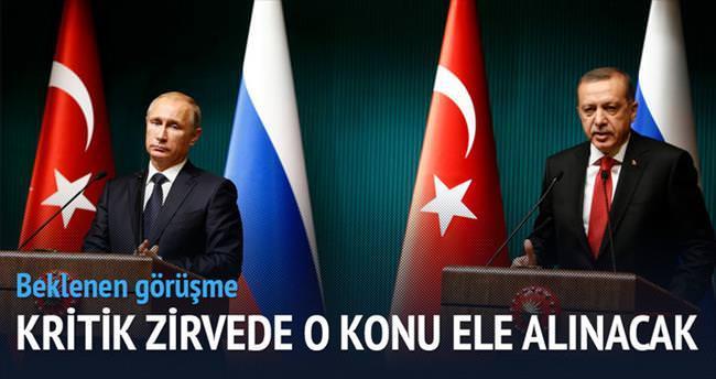 Bakü'de Putin'le Suriye zirvesi