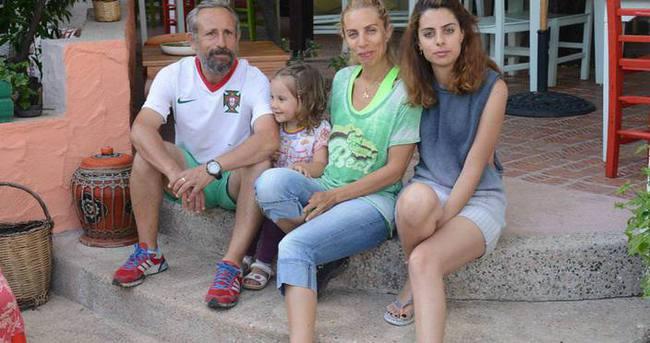 Zeynep Casalini eşi ve çocuklarıyla Bodrum'da çok mutlu