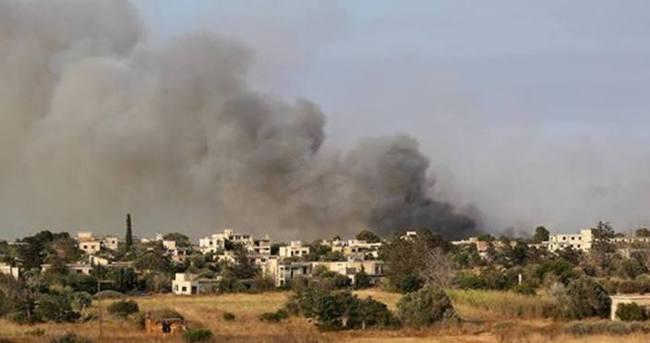 KKTC'de Derinya bölgesinde çıkan yangın, Maraş'a sıçradı